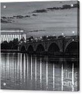 Washington Landmarks At Dawn II Acrylic Print