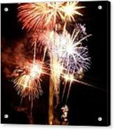 Washington Monument Fireworks 2 Acrylic Print