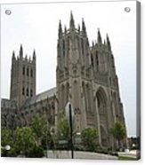 Washington National Cathedral - Washington Dc - 0113112 Acrylic Print