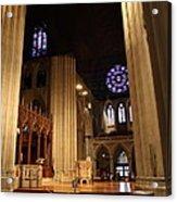 Washington National Cathedral - Washington Dc - 011314 Acrylic Print by DC Photographer