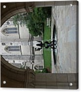 Washington National Cathedral - Washington Dc - 011359 Acrylic Print by DC Photographer