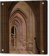 Washington National Cathedral - Washington Dc - 01136 Acrylic Print