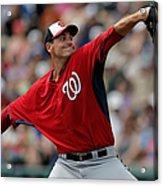 Washington Nationals V Atlanta Braves Acrylic Print