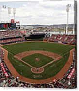 Washington Nationals V. Cincinnati Reds Acrylic Print