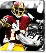Washington Redskins Rg3 Acrylic Print