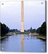 Washington Reflects Acrylic Print