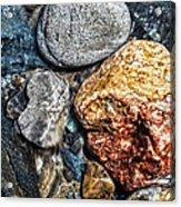 Washington River Rock Acrylic Print