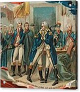Washington Taking Leave Of His Officers Acrylic Print