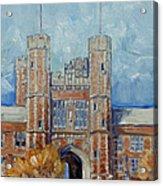 Washington University - Winter Morning Acrylic Print