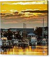 Washington Waterfront Acrylic Print