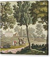Washingtons House At Mount Vernon Acrylic Print