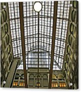 Inside The Old Post Office Acrylic Print