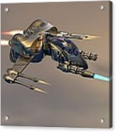 Wasp Fighter Acrylic Print