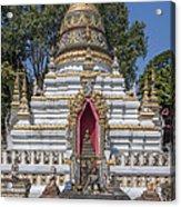 Wat Chai Monkol Phra Chedi Buddha Niche Dthcm0863 Acrylic Print