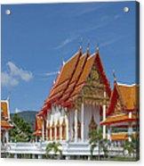 Wat Luang Pu Supa Ubosot Dthp323 Acrylic Print