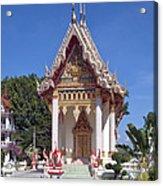 Wat Mahawanaram Ubosot Dthu652 Acrylic Print