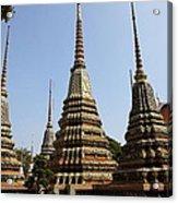 Wat Pho - Bangkok Thailand - 011319 Acrylic Print