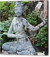 Wat Pho Acrylic Print