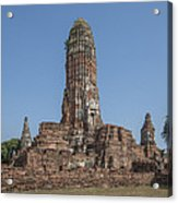 Wat Phra Ram Great Central Prang Complex Dtha0157 Acrylic Print
