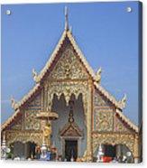 Wat Phra Singh Phra Wihan Luang Gable Dthcm0238 Acrylic Print