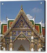 Wat Phrasri Mahathat Ubosot Gable Dthb1465 Acrylic Print