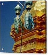 Wat Phrathat Doi Suthep  Acrylic Print