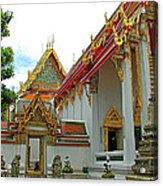 Wat Po In Bangkok-thailand Acrylic Print