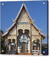 Wat Sri Don Chai Phra Wiharn Dthcm0084 Acrylic Print