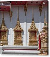 Wat Suwan Khiri Khet Ubosot Windows Dthp273 Acrylic Print