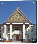 Wat Thewasunthon Preaching Hall Or Sala Kan Prien Dthb1422 Acrylic Print