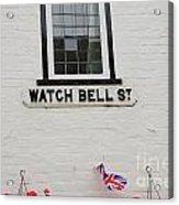 Watch Bell Street Rye Acrylic Print