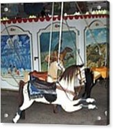 Watch Hill Merry Go Round Acrylic Print
