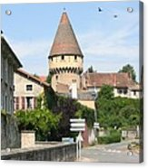Watch Tower In Cluny Acrylic Print