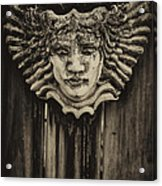 Watcher Of The Yard 2 Acrylic Print