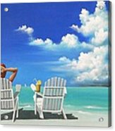 Watching Clouds Acrylic Print