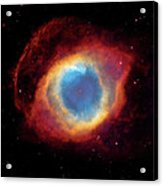 Watching - Helix Nebula Acrylic Print by Jennifer Rondinelli Reilly - Fine Art Photography
