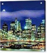 Watching Over New York Acrylic Print