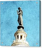 Watching Over The Plaza Acrylic Print