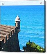 Watchtower Of San Juan Acrylic Print