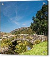 Watendlath Stone Footbridge Vertical Acrylic Print