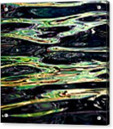 Water Abstract Acrylic Print