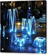 Water And Ligths Acrylic Print