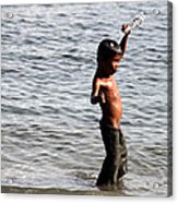 Water And Me Acrylic Print