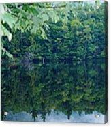Water At Peace Acrylic Print
