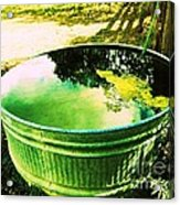 Water Barrel Acrylic Print