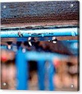 Water Blue  Acrylic Print