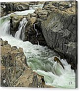 Water Canyon Acrylic Print