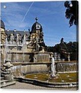 Water Cascade Palace Seehof Acrylic Print