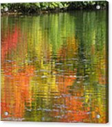 Water Colors Acrylic Print