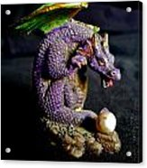 Water Dragon Acrylic Print